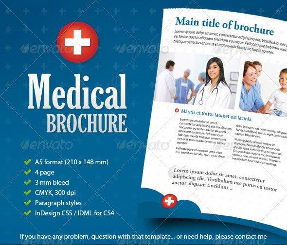 medical brochure templates - medical brochure
