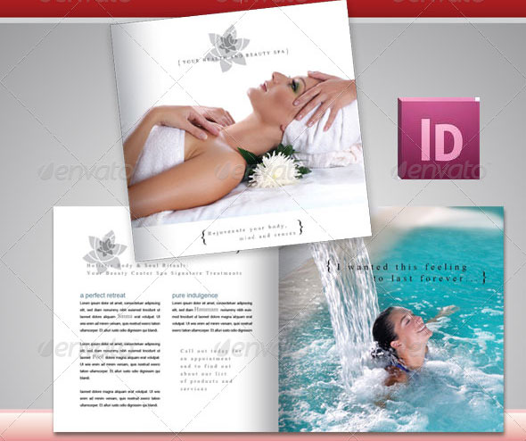 17 Beautiful Spa Brochure Templates u2013 Design Freebies - spa brochure