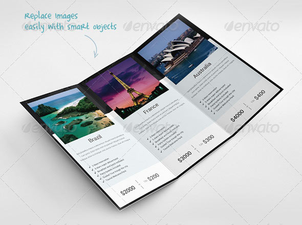 15 Great Travel Brochure Templates \u2013 Design Freebies