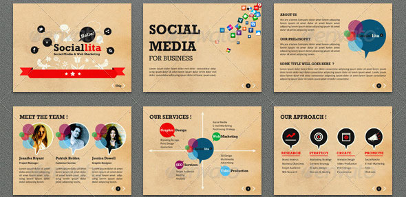 31 Vintage PowerPoint Templates \u2013 Design Freebies