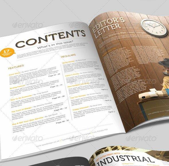 21 Magazine Templates A4 Format \u2013 Design Freebies