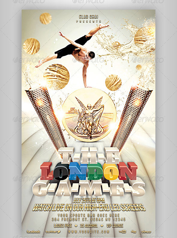 12 Great Games Sport Flyer Templates \u2013 Design Freebies