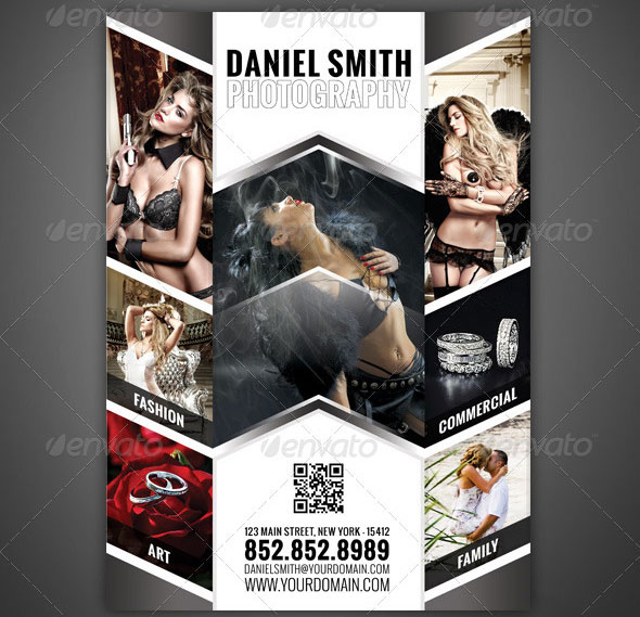 photography-flyer-magazine-ad-01jpg (590×569) Orçamentos - photography flyer