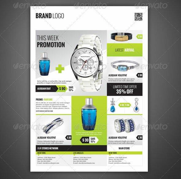 33 Beautiful Flyer Magazine AD Templates \u2013 Design Freebies