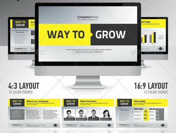 26 Minimal Presentation Templates \u2013 Design Freebies