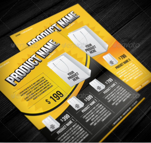 product flyer templates - Kubreeuforic