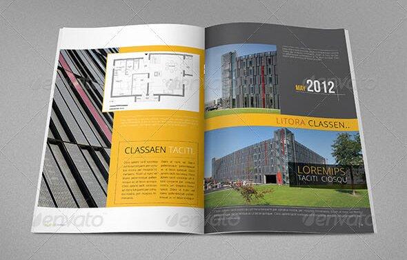 20 Beautiful Architecture Brochure Templates \u2013 Design Freebies