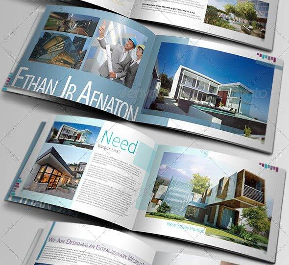 29 Beautiful Architecture Brochure Templates \u2013 Design Freebies