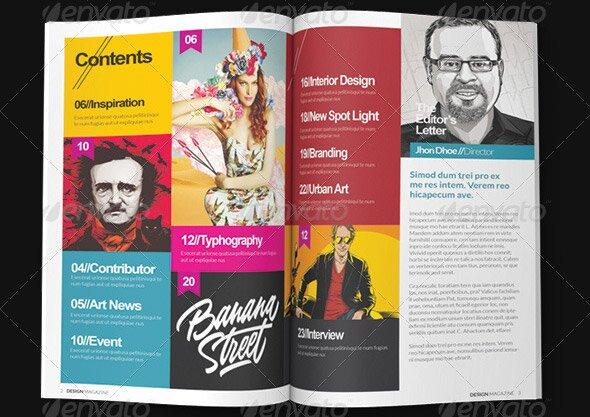 10 Beautiful Indesign Templates For Architecture Magazine \u2013 Design