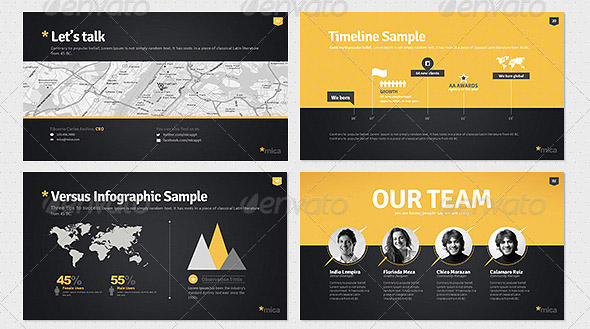 10 Great Portfolio PowerPoint Presentation Templates \u2013 Design Freebies
