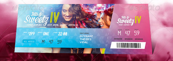 design tickets template - Intoanysearch
