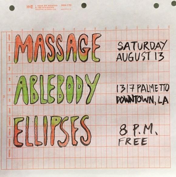 Massage-Flyer