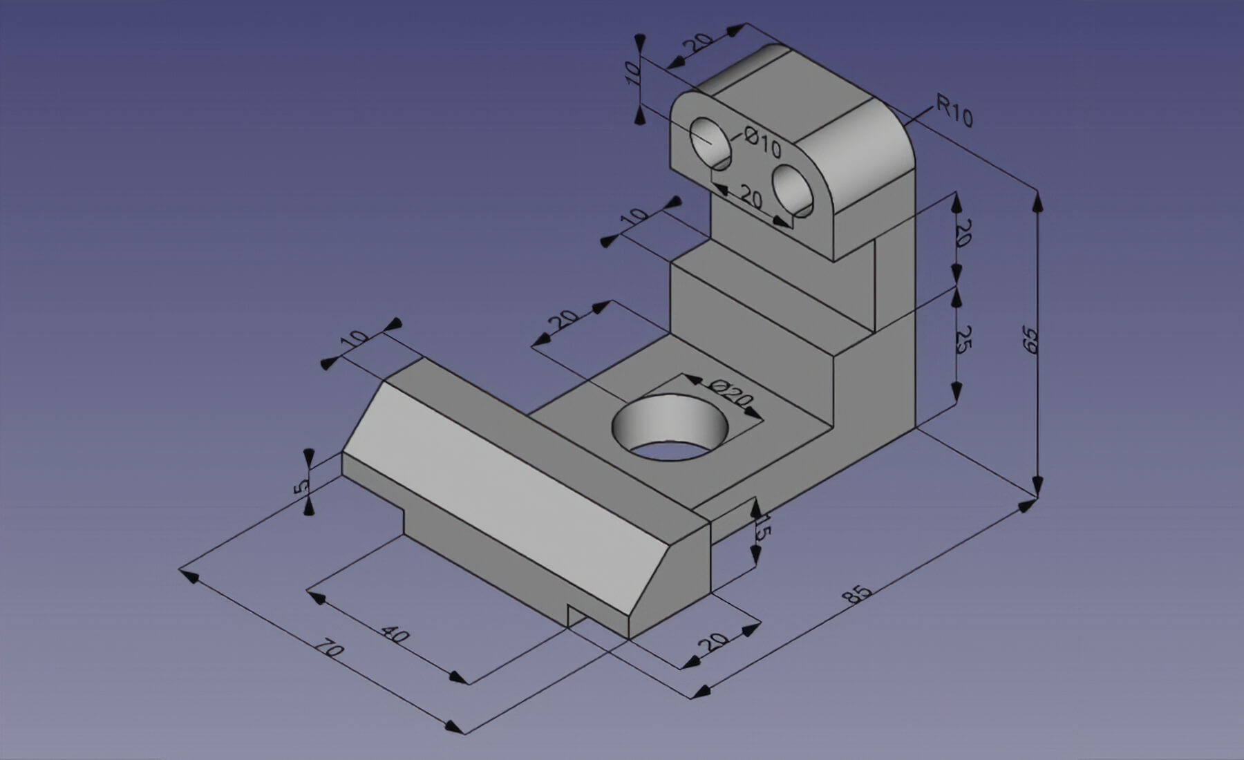 3d Programm Kostenlos Freecad Your Own 3d Parametric Modeler