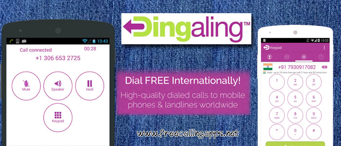 Dingaling , free calls to mobile and land lines
