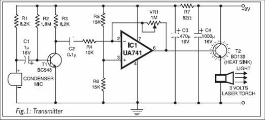 voice activated switch circuit diagram pdf