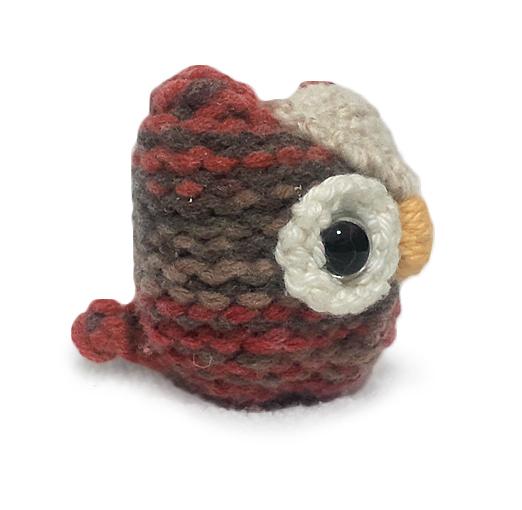 FREE Owl Animal Stuffed Toys Knitting Pattern for Beginners!