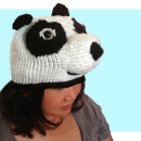 Free Cute Kungfu Panda Hat inspired knitting patterns