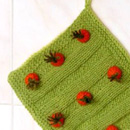 Carrot Field Potholder