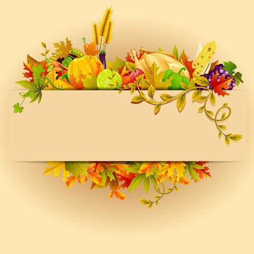 Hd Wallpaper Texture Fall Harvest Autumn Harvest Elements Vector Background Set 02 Free Download