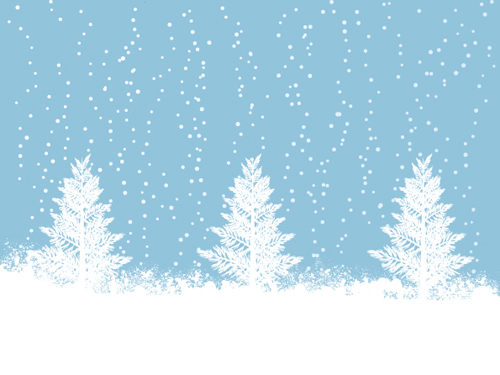 Christmas Falling Snow Wallpaper Note 3 Elements Of Winter With Snow Backgrounds Vector 05