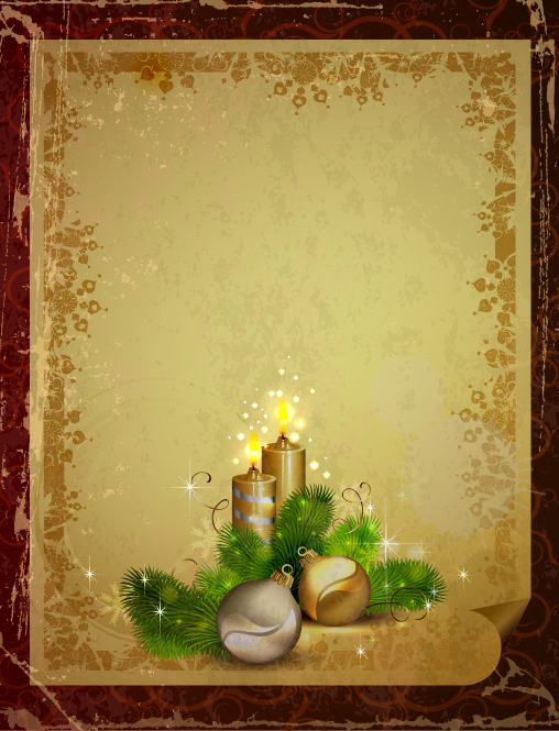 Vintage Car Wallpaper Transparent Garbage Vintage Christmas Vector Backgrounds 03 Free Download