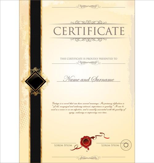 certificate design templates - certificate designs free