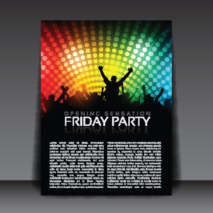 party flyer free template - Romeolandinez - party brochure template
