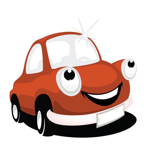 Funny color cartoon cars vector 03 \u2013 Over millions vectors, stock