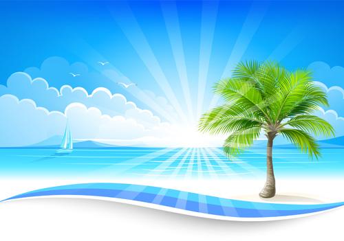 Summer sea background art 06 u2013 Over millions vectors, stock photos - summer powerpoint template