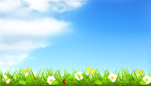 Summer with flowers backgrounds 01 u2013 Over millions vectors, stock - summer powerpoint template