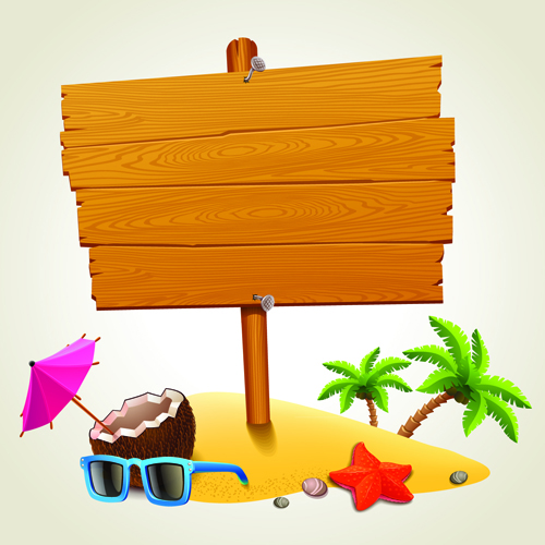 Vacation design vector backgrounds 04 free download