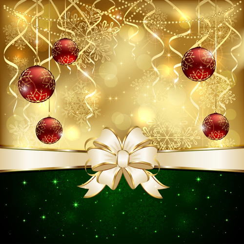 Free Fall Flowers Wallpaper Bright Christmas Backgrounds Vector 07 Free Download