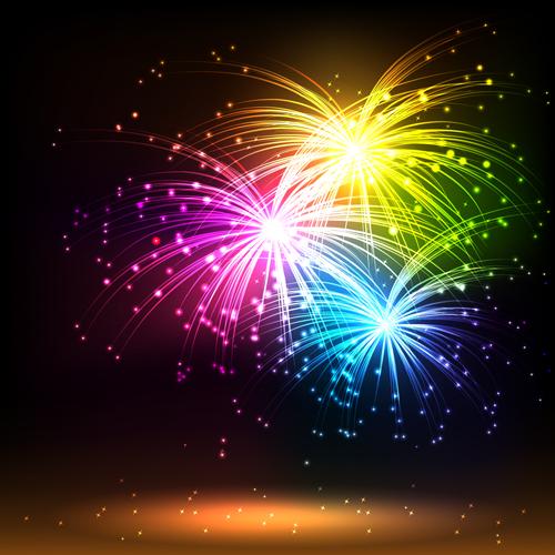 Niagara Falls Full Hd Wallpaper Multicolor Fireworks Holiday Vector 04 Free Download