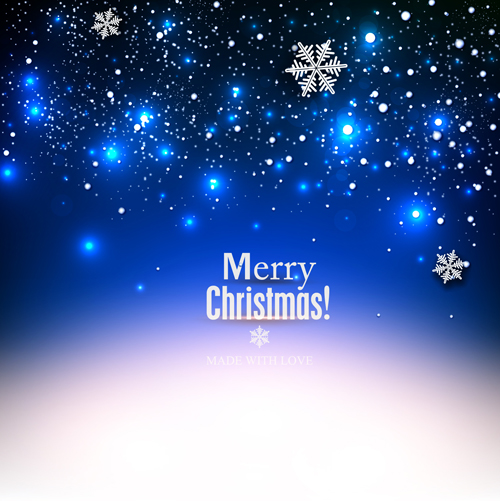 merry christmas background vector - Funfpandroid