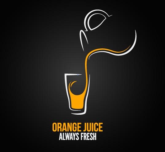 Restaurant menu cover logos design elements vector 01 free download