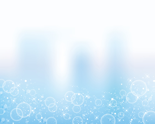 Transparent bubbles with background vector 05 free download