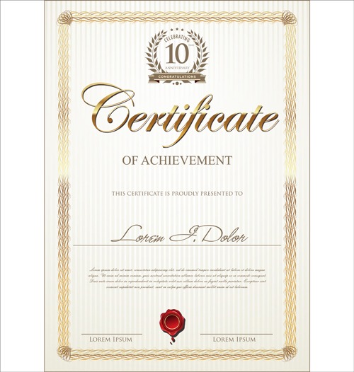Image from    freedesignfile upload 2014 03 Modern - graduation certificate