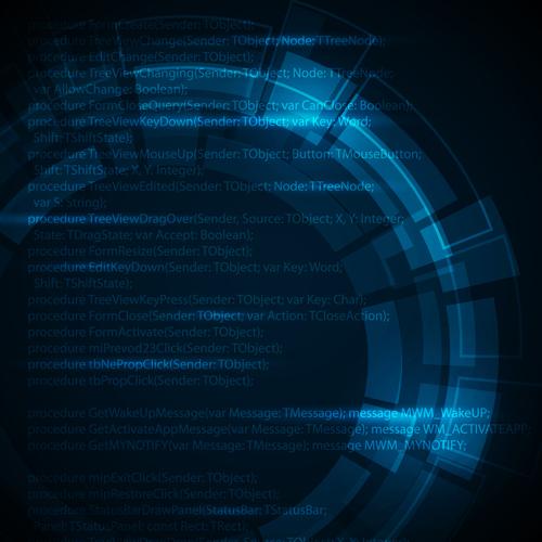 Concept dark blue technical vector background 03 \u2013 Over millions
