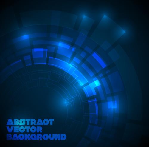 Concept dark blue technical vector background 04 \u2013 Over millions