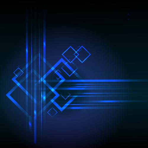Concept dark blue technical vector background 05 \u2013 Over millions