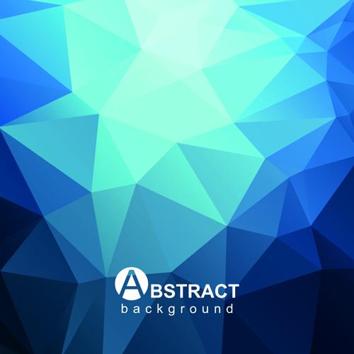 Wallpaper Graffiti Keren 3d Gloss Geometric Polygonal Vector Background Art 03 Free
