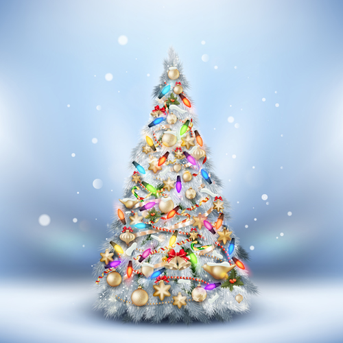 Sports Car Wallpaper 3d Beautiful Christmas Tree 2015 Background Vector 02 Free