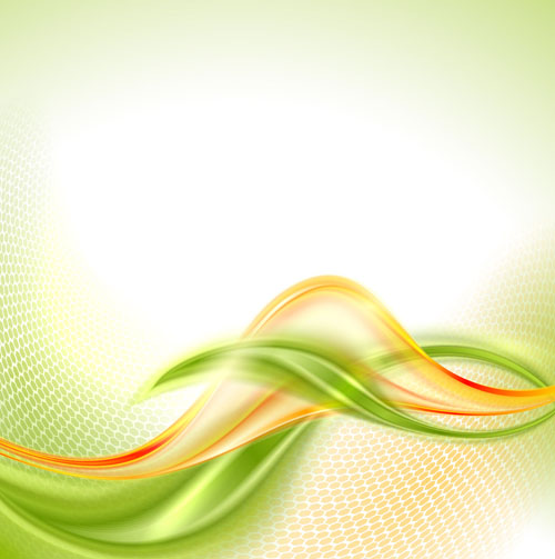 3d White Brick Wallpaper Abstract Wavy Green Eco Style Background Vector 21 Free