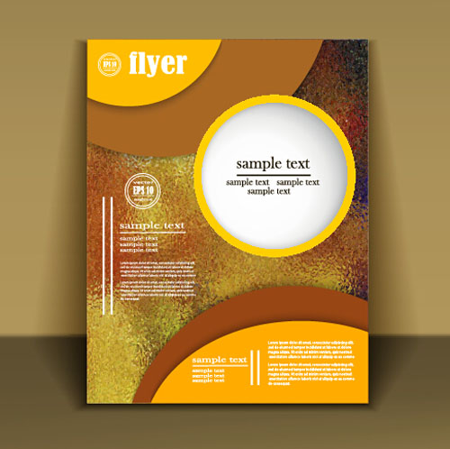 Fashion cover brochure with flyer design vector 06 free download - free flayer design