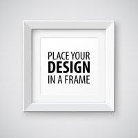 Modern photo frame creative vectors material 05