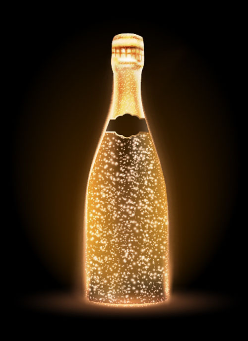 Car Wallpaper Clipart Champagne Bottle Vector Material 04 Free Download