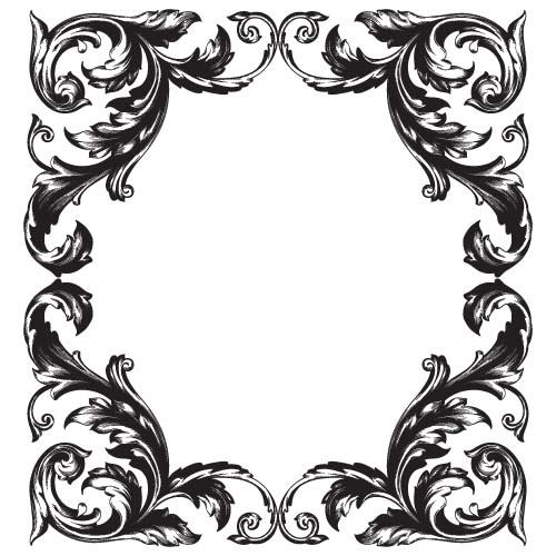 baroque design - Josemulinohouse - baroque scroll designs