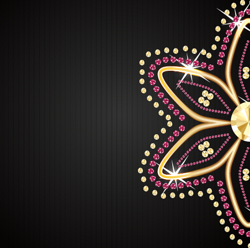 3d Action Wallpaper Hd Beautiful Jewelry Vector Background Free Download