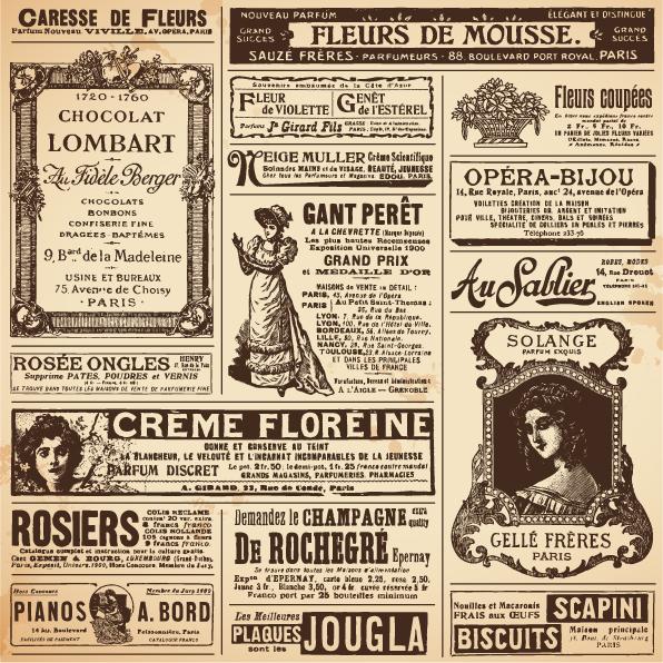 free vintage newspaper template - Acurlunamedia - old newspaper template