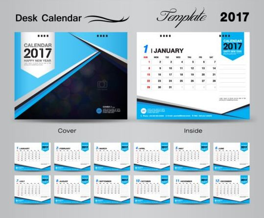 Table Calendar Design Vector | Google Calendar